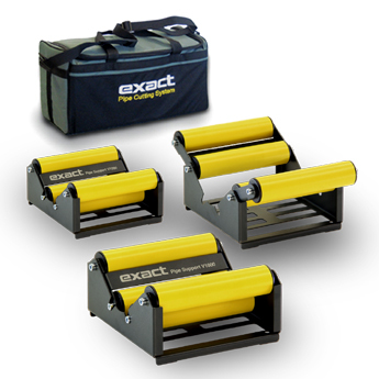 Exact Pipe Support V1000 set with a bag for holding and carrying them