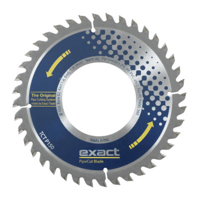 TCT P150 saw blade purely for plastic pipe cutting